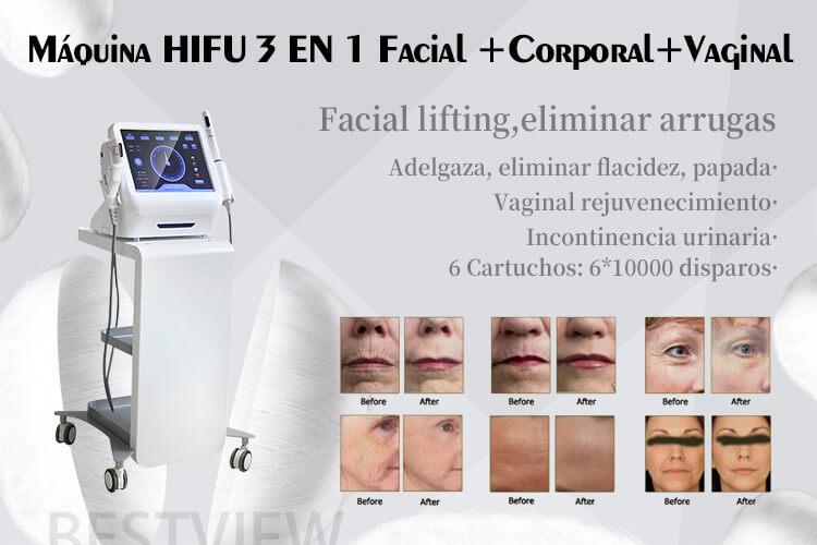 Máquina de HIFU + HIFU Vaginal