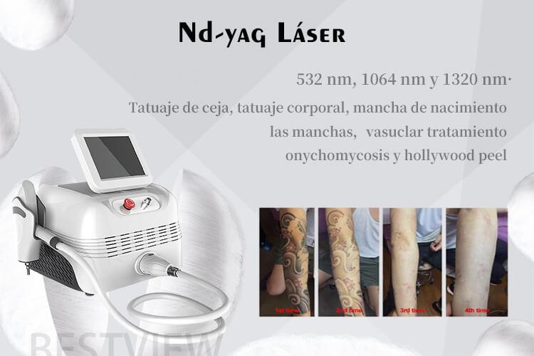 maquina nd yag laser: