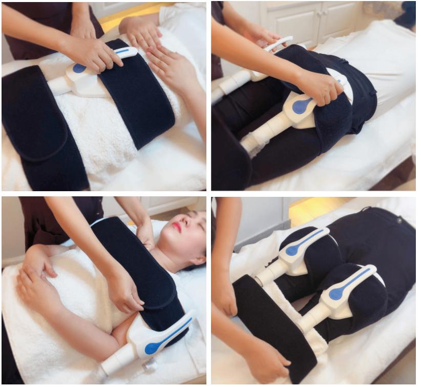 Máquina de estimulación muscular electromagnética Slim Hifem