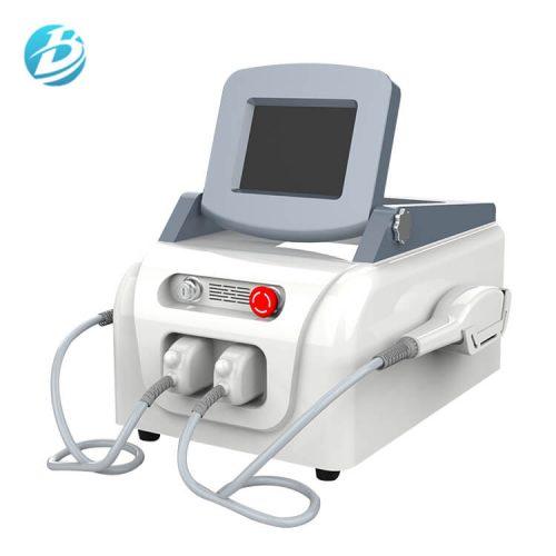 Máquina láser tres en uno IPL + SHR + ND.YAG